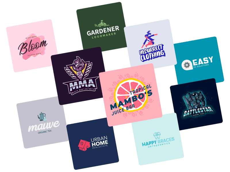 Logo Design Templates To Create A Brand
