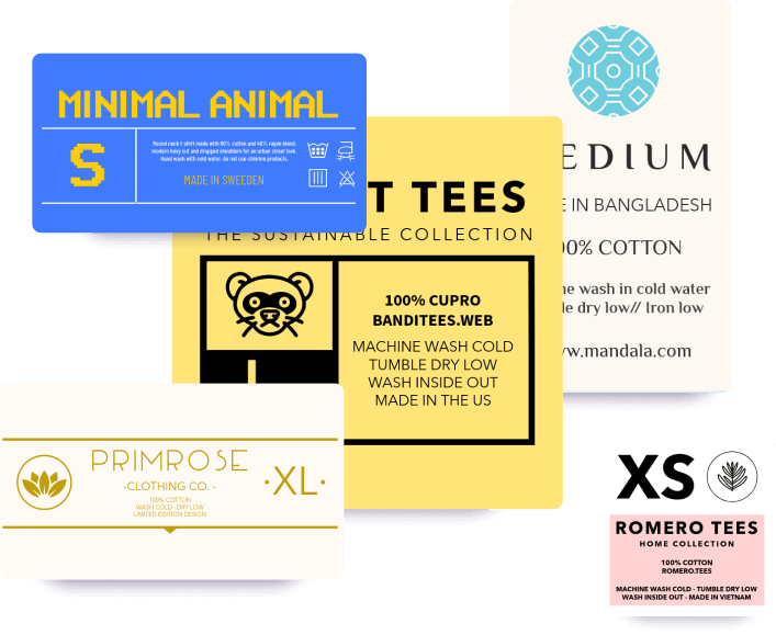 Optimized T Shirt Labels