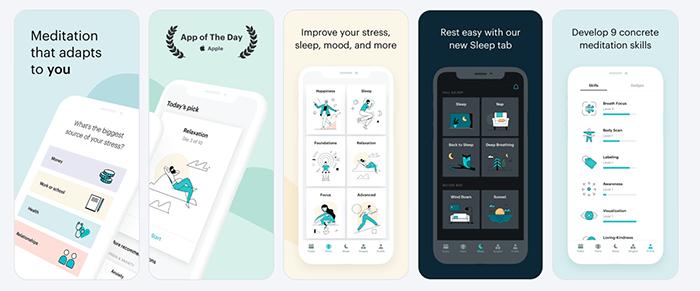 Balance Meditation App Screenshots