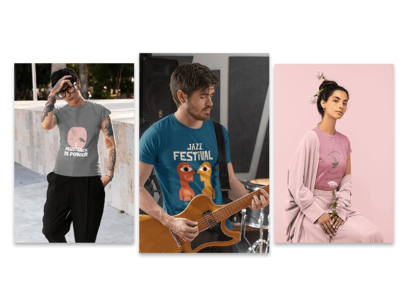 Influencers Tshirt Mockups