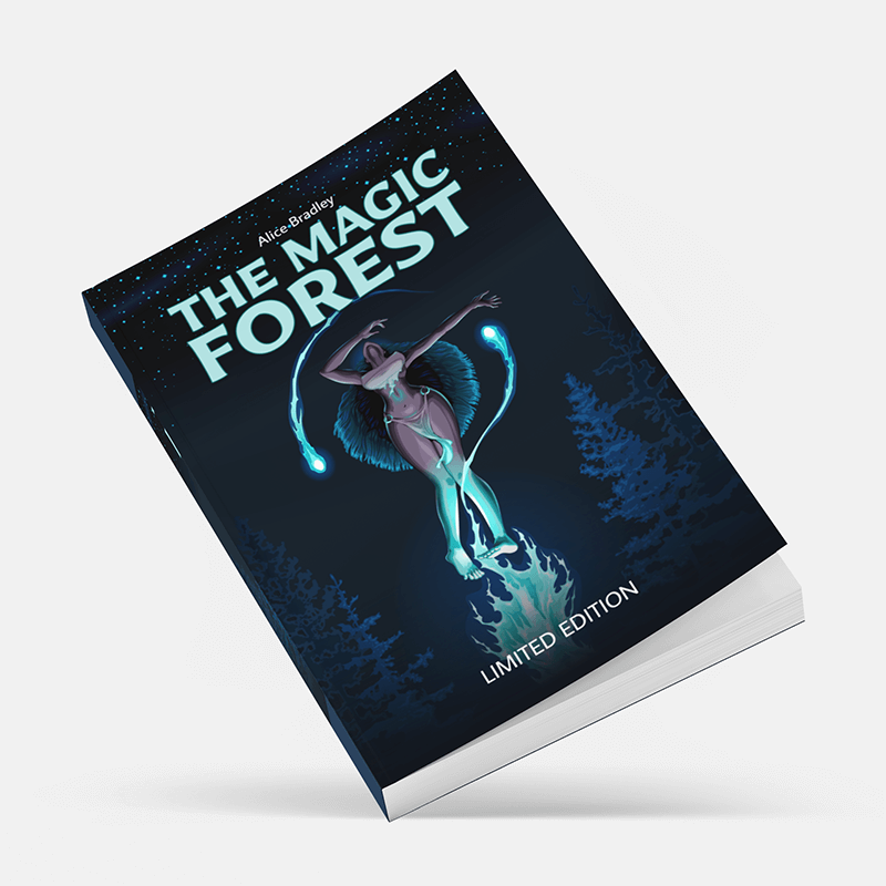 Mockup Of A Book Featuring A Customizable Background