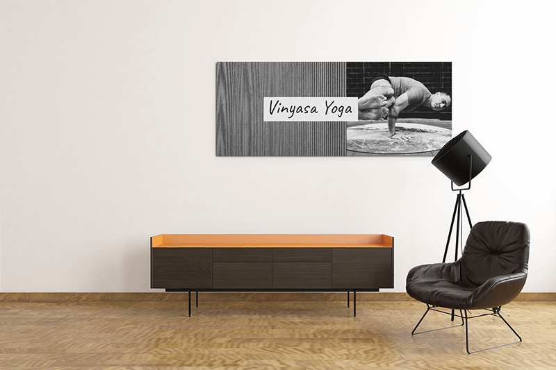 Modern Mockup Of An Art Print With Some Minimalistic Furniture 2539 El1