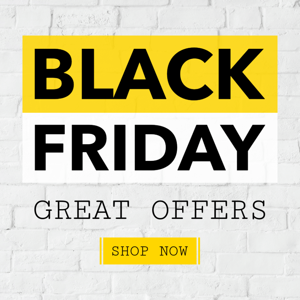 Online Banner Maker For Black Friday Offers