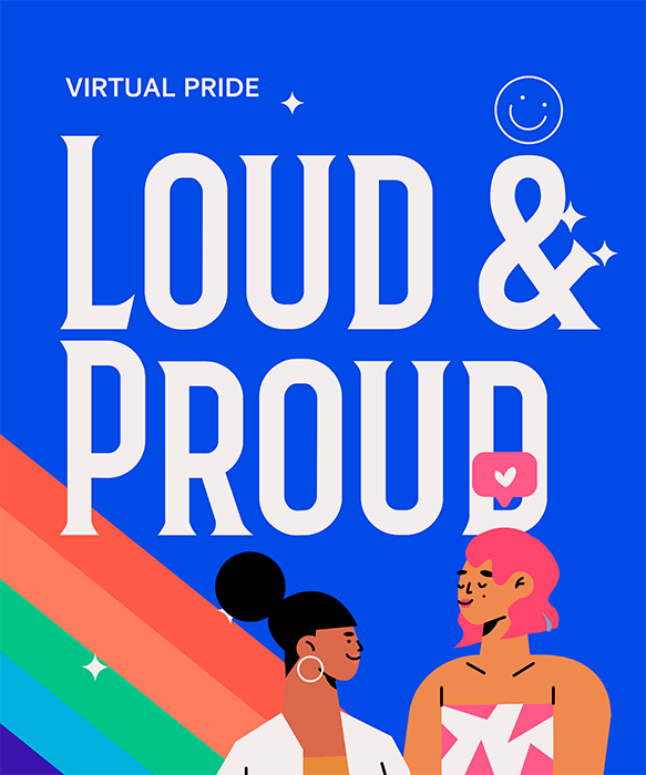 Illustrated T Shirt Design Maker Featuring A Bold Lgbt Pride Quote