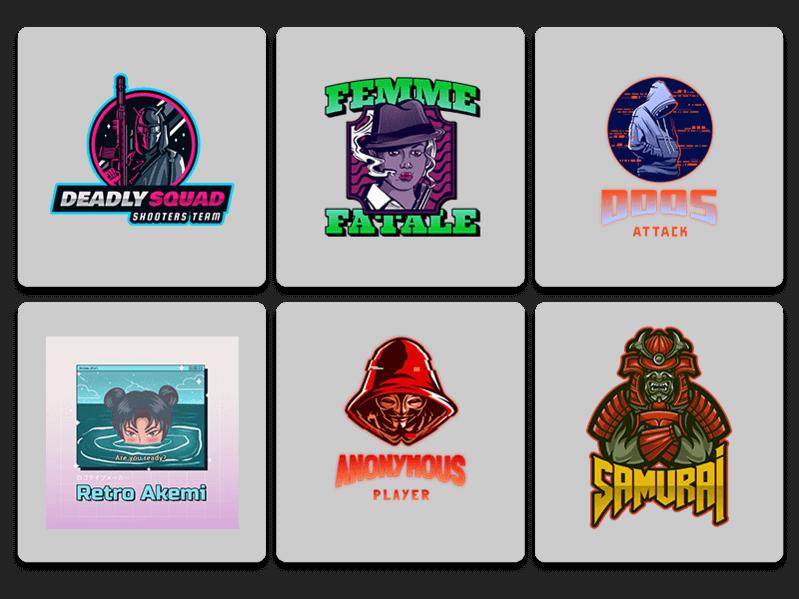 Placeit Gaming Logos
