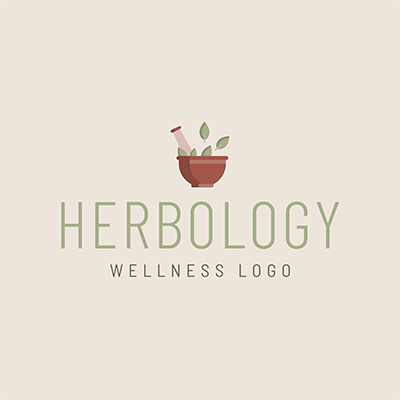 Herbology Logo Creator With A Simple Graphic