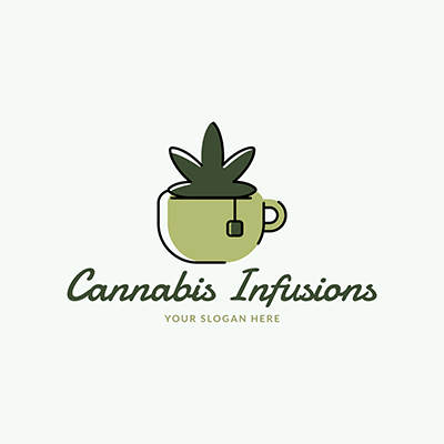 Logo Generator For A Cannabis Infusions Store