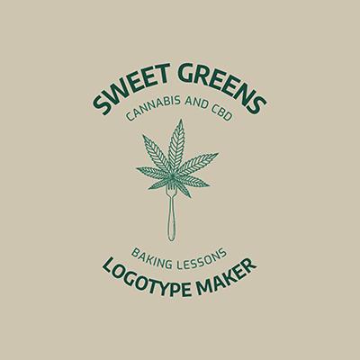 Logo Generator For Sweet Cannabis Desserts