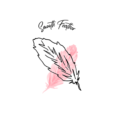 Beauty Logo Creator With A Soft Feather Graphic