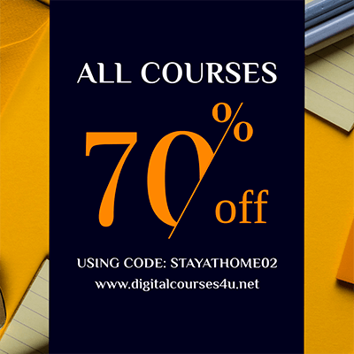 Coupon Design Maker For A Special Digital Course Discount