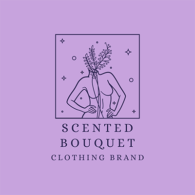 Female Clothing Brand Logo Maker Featuring An Outline Drawing