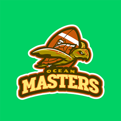 Football Logo Creator With An Illustration Of A Turtle