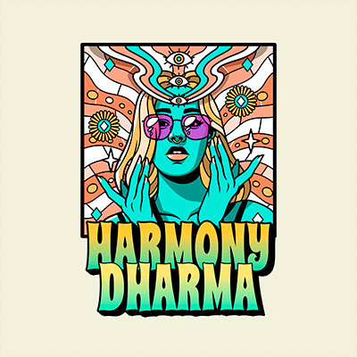 Funk Music Logo Maker With A 70s Psychedelic Style