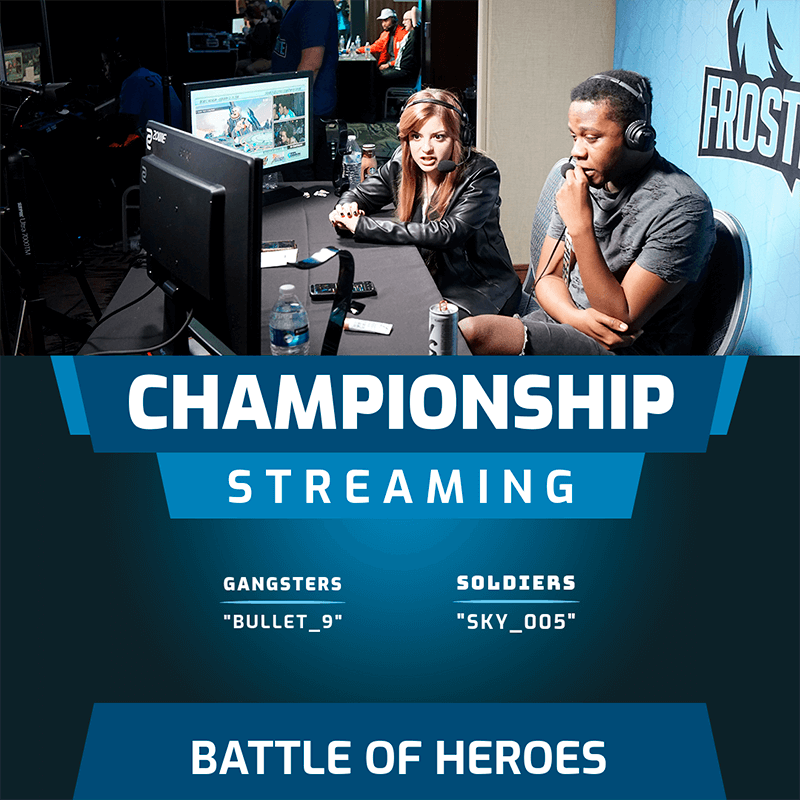 Gaming Instagram Post Template For A Championship Streaming
