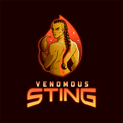 Gaming Logo Maker Featuring A Scorpion Humanoid