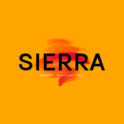 Logo Template For A Makeup Store With A Brush Stain Graphic