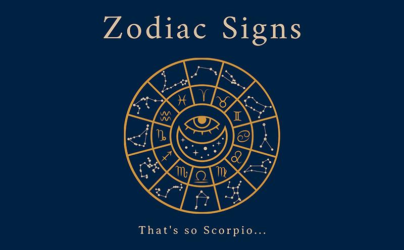 Online Logo Maker Featuring A Zodiac Circle Clipart