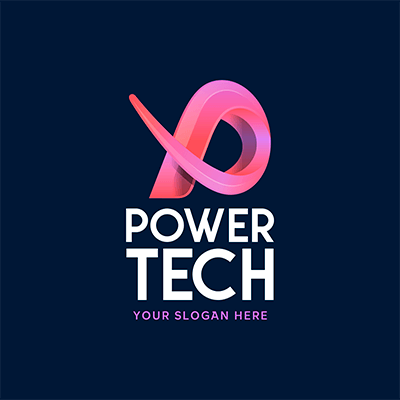 Technology Logo Maker With An Abstract 3d Icon