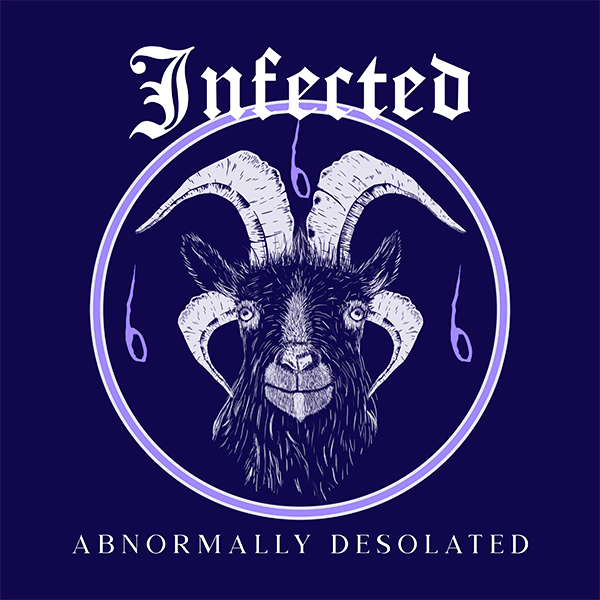 Album Cover Generator With A Demonic Goat Graphic