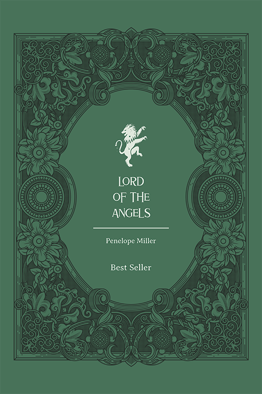 Fantasy Book Cover Maker Featuring A Classical Frame