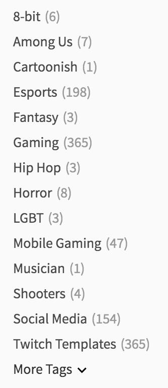 Gaming Tags