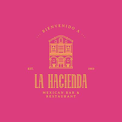 Logo Maker For A Mexican Restaurant Featuring A Building Facade Graphic