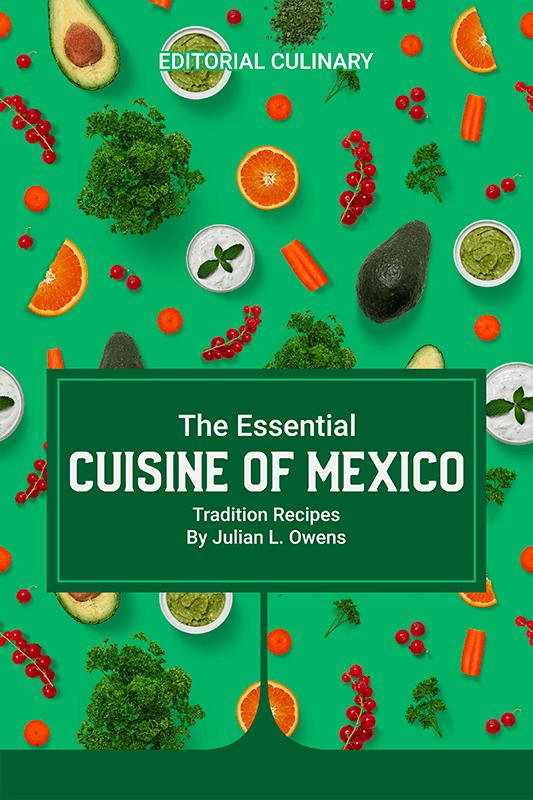 Mexican Cuisine E Book Cover Design Maker