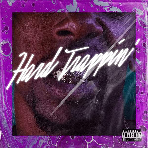 Mixtape Cover Design Template For A Rap Artist