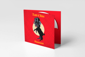 Mockup Of A Single Digipack Standing On A Colored Surface
