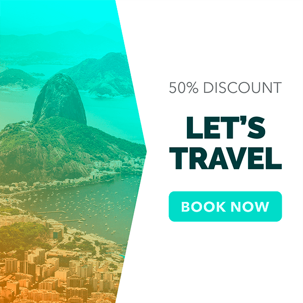 Travel Agency Online Banner Ad Maker