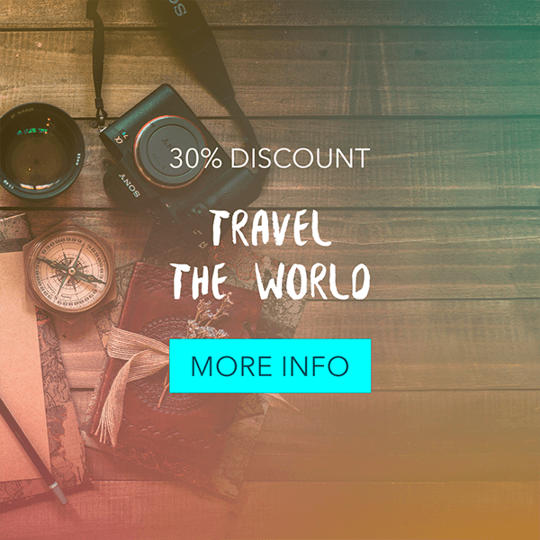 Travel Info Banner Ad Maker