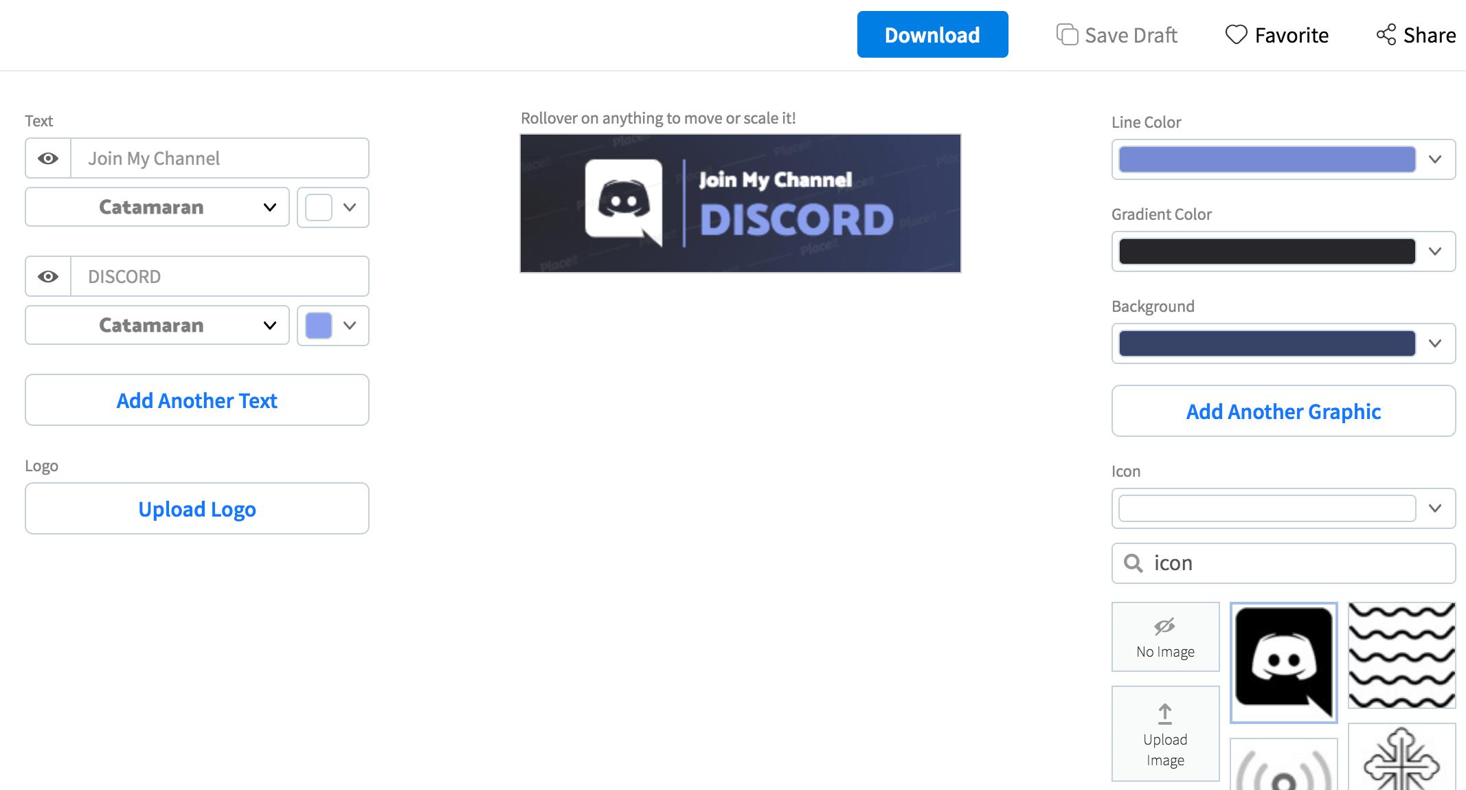 Twitch Panel Editing