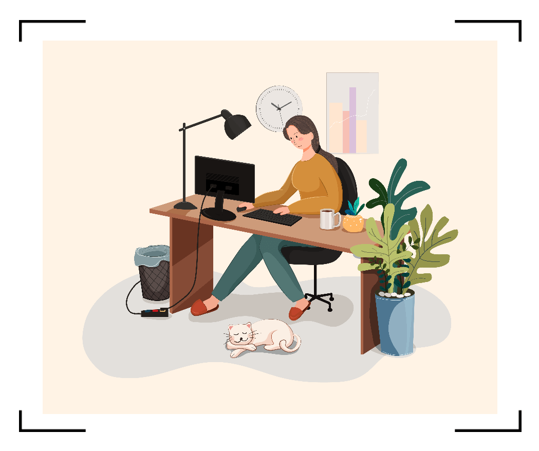 Instagram Post Design Templates With Suggestions To Work From Home