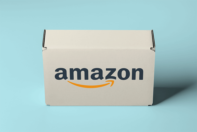 Mockup Of A Standing Packaging Box