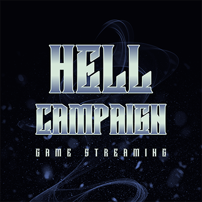 Game Streaming Logo Maker With A Metallic Typography