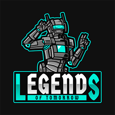 Gaming Logo Maker Based On Apex Legends Featuring A Robot