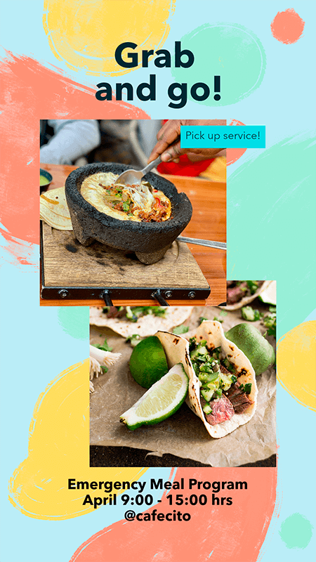 Instagram Story Maker For Food Promos And Recipes