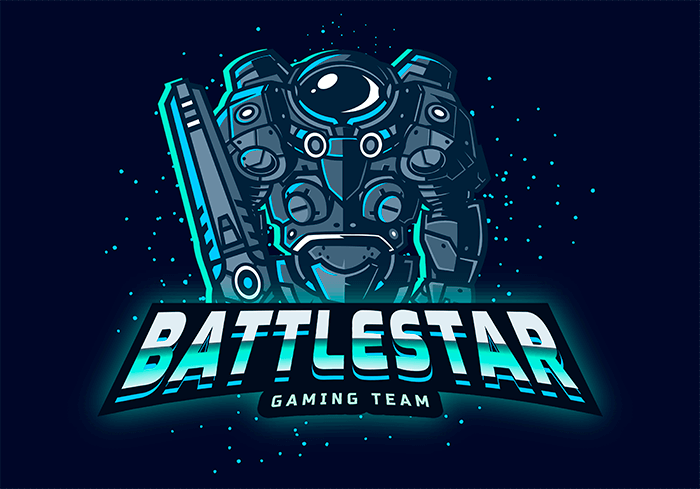 Starcraft Inspired Logo Maker For A Gaming Team