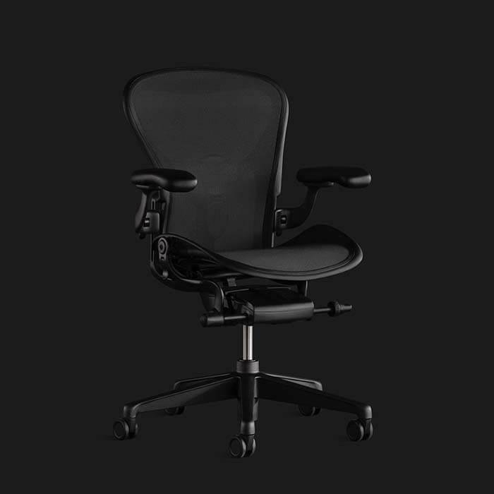 Hermanmiller Aeron Chair Ergonomic Gaming Seat