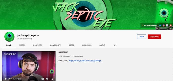 Jacksepticeye Branding