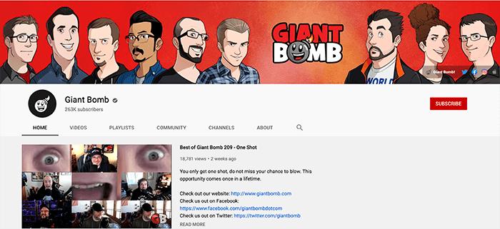 Giant Bomb Branding