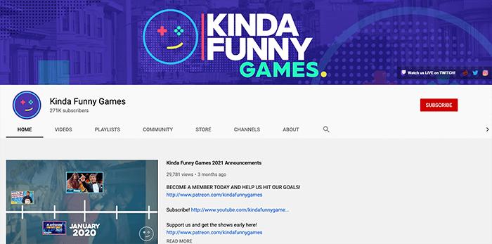 Kinda Funny Games Branding
