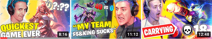 Ninja Thumbnails