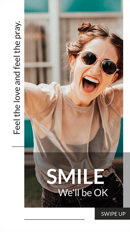 Smile Instagram