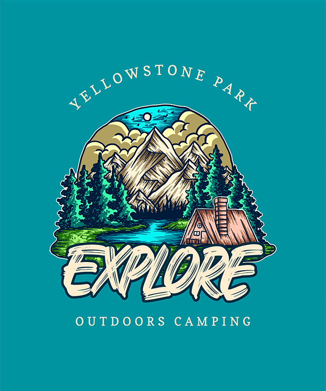 T Shirt Design Generator Featuring An Illustration Of Nature
