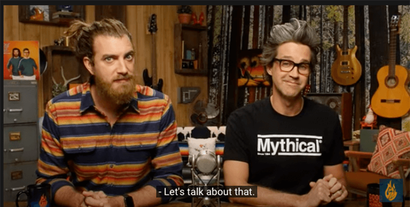 Good Mythical Mornings Tagline