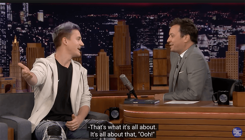 Tyler Blevins Talks About Videogames With Jimmy Fallon