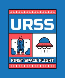T Shirt Design Generator With Spacecraft Graphics