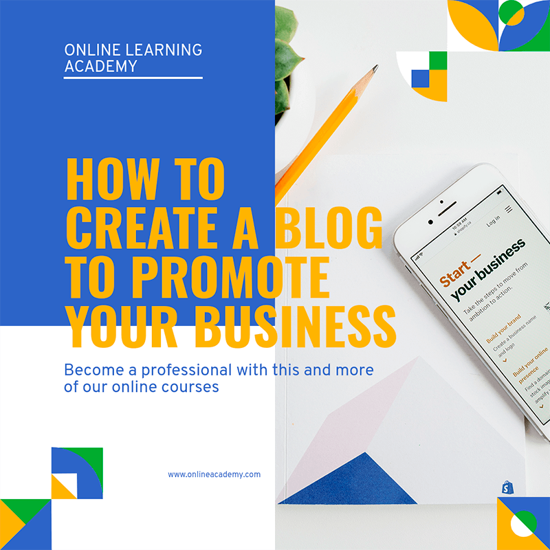 Instagram Post Creator On How To Create A Business Blog