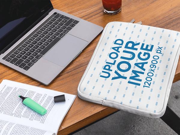 Laptop Sleeve Free Mockup